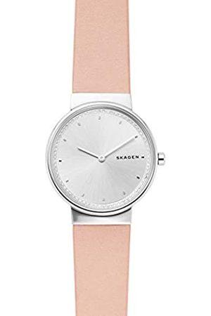 Skagen Womens Analogue Quartz Watch with Leather Strap SKW2753