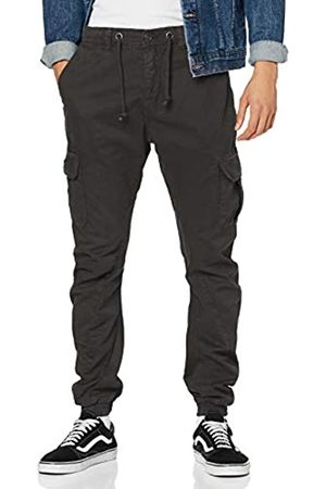 Urban classics Men's Cargo Jogging Pants Slim Trousers