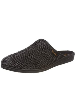 Fischer Men's Frank Open Back Slippers, (Grauschwarz 662)