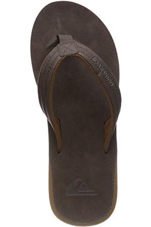 Quiksilver Men's Carver Nubuck-Sandals Beach & Pool Shoes, (Demitasse-Solid Ctk0)