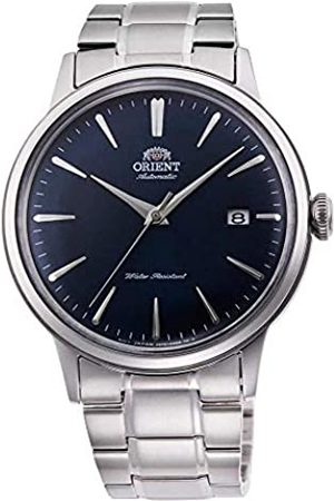Orient Mens Analogue Automatic Watch with Stainless Steel Strap RA-AC0007L10B