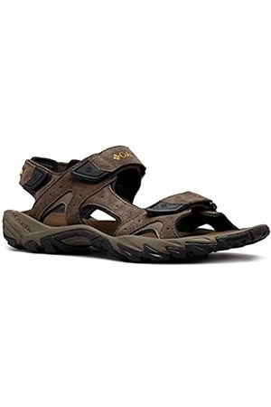 Columbia Men's Santiam 3 Strap Sandals, (Cordovan, Dark Banana 231)