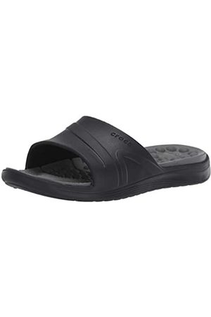 Crocs Unisex Adults' Reviva Slide Open Toe Sandals, ( /Slate )