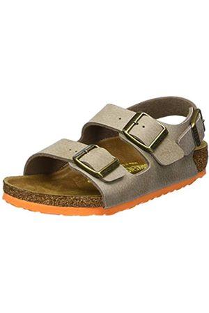 Birkenstock Milano, Unisex Kids' Sandals, (Desert Soil Taupe)
