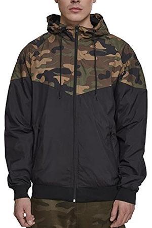 Urban Classics Men's Pattern Arrow Windrunner Jacket