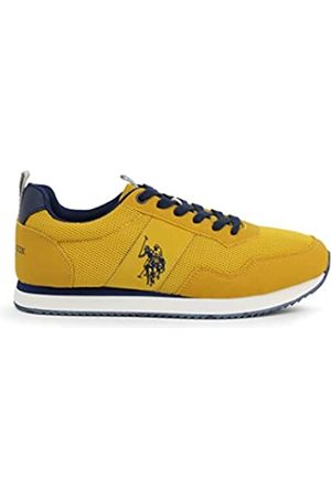 U.S.POLO ASSN. US Polo Association Men's Exte Gymnastics Shoes, (YEL 020)