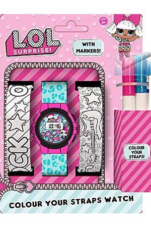 L.O.L. Surprise! L.O.L. Surprise Unisex Adult Digital Watch with Plastic Strap 22010