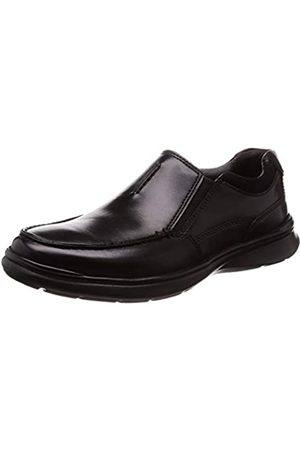 Clarks Men's Cotrell Free Loafers, (Blk Smooth Leather)