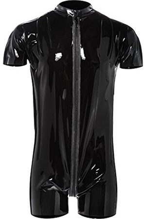 The Latex Collection Men's 29100981721 Latex Playsuit Large