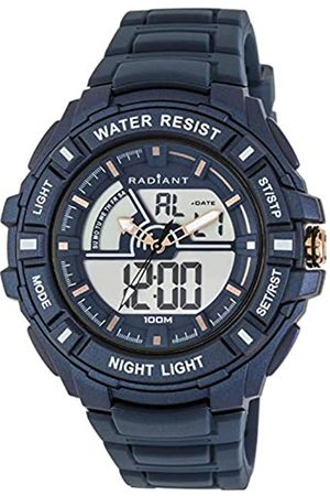 Radiant Mens Digital Watch with Rubber Strap RA438602