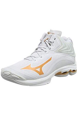 Mizuno Women's Wave Lightning Z6MID Volleyball Shoes, (Nimbus Cloud/10135c/Wht 52)