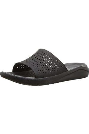 Crocs Literide Slide, Unisex Adult's Open Toe Sandals, ( /Slate 0Dd)
