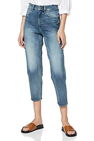 G-STAR RAW Women's Janeh Ultra High Waist Mom Ankle Straight Jeans