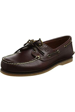 Timberland Classic 2 Eye, Men's Boat Shoes (Rootbeer Smooth) 7.5 UK