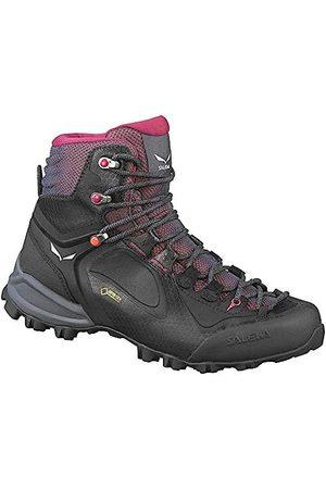 SALEWA Damen-Wander-Outdoor-Multisport-Schuhe Alpenviolet Mid GTX schwarz violet