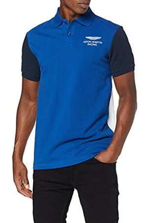 Hackett London Hackett Men's Amr Col Block Polo Shirt