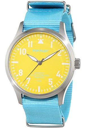 POP-PILOT Pop Pilot Unisex Quartz Watch with SXM Analogue Quartz Nylon P4260362630031