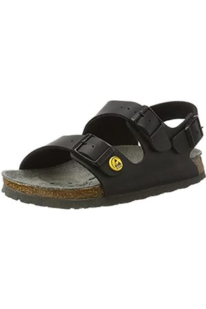 Birkenstock Unisex Adults Flor ESD Milano Antistatic Work Shoe Birko Pile Size 42-Normal Footbed,