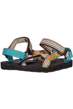 Teva Elzada Web Women Fabric Sling Back Straps Sandals Turquoise Size UK 3-8