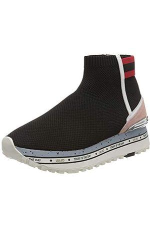 Liu Jo Women's Maxi Alexa 4-Elastic Sock Low-Top Sneakers, ( 22222)