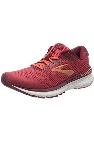 Brooks Women's Adrenaline Gts 20 Running Shoe, Rumba /Teaberry/Coral