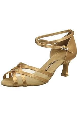 Diamant Latein 035-077-087 Damen Tanzschuhe - Standard & Latein, Women's Ballroom Ballroom Dance Shoes, (Hautfarben)