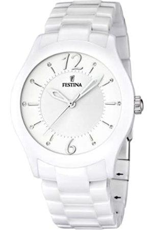 Festina Unisex Quartz Watch with Dial Analogue Display and Ceramic Bracelet F16638/1