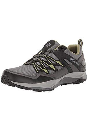 Columbia Men's Waterproof WAYFINDER Outdry Hiking Shoes, (Ti Steel,)