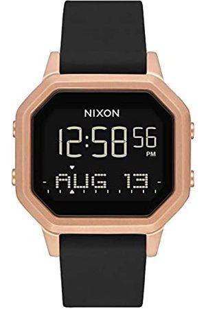 NIXON Womens Digital Watch with Silicone Strap A1211-1098-00