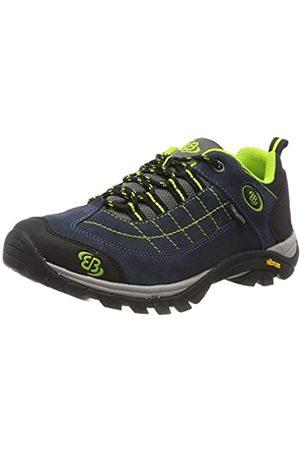 Bruetting Unisex Adults' Mount Crillon Low Rise Hiking Shoes, (Marine/Lemon Marine/Lemon)