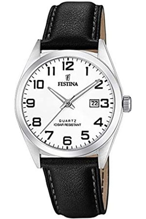 Festina Mens Analogue Quartz Watch with Leather Strap F20446/1