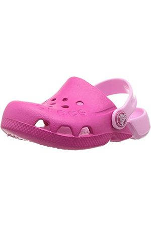 Crocs Unisex Kids' Electro Clogs, (Candy /Carnation)