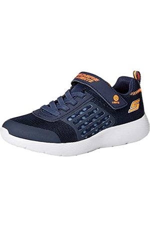 Skechers Boys' Dyna-lights Sneakers, (Navy Mesh/ Trim Nvor)