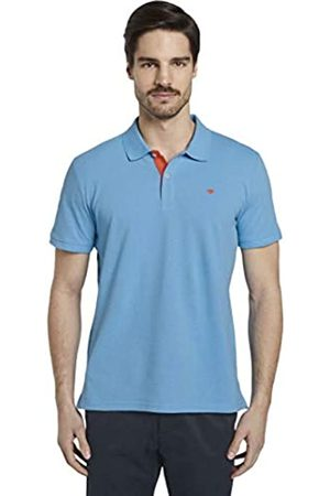 Tom Tailor Men's Basic Polo Shirt, 21184-Soft Cloud