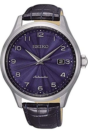 Seiko Mens Analogue Automatic Watch with Leather Strap SRPC21K1
