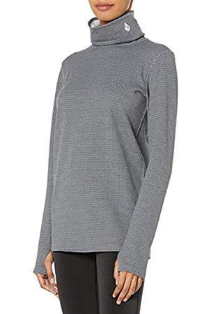 Volcom Women's Tech Funnel Base Layer Fleece - Gray - Medium
