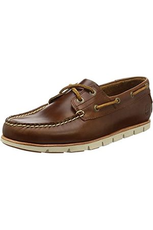 Timberland Men's Tidelands 2 Eye Boat Shoes, (Md Full Grain)