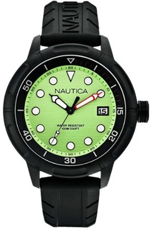 Nautica A17618G Men's Watch Analogue Quartz Silicone Strap Dial