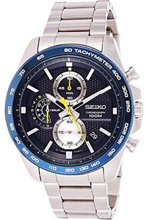 Seiko Men's Chronograph Quartz Watch with Stainless Steel Strap SSB259P1