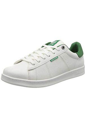 JACK & JONES NOS Men's Jfwbanna Pu White/Amazon Noos Sneaker