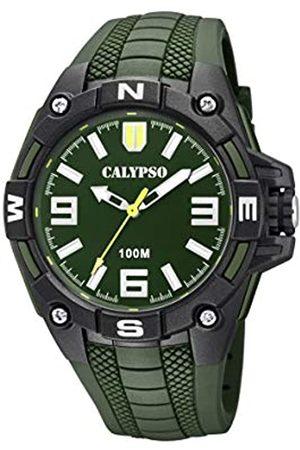 Calypso watches Mens Analogue Classic Quartz Watch with Plastic Strap K5761/5