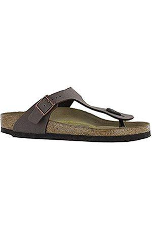 Birkenstock Gizeh Birko-flor Nubuck, Women's Flip Flop Sandals, (Mocca)