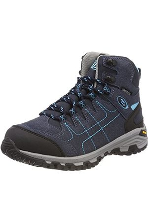 Bruetting Women's Mount Shasta High Rise Hiking Shoes, (Marine/Türkis Marine/Türkis)