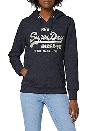 Superdry Women's Vl Stitch Sequin Entry Hood Hoodie