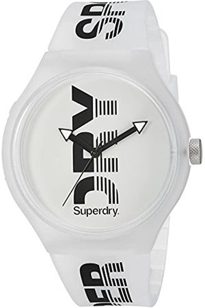 Superdry Mens Analogue Quartz Watch with Silicone Strap SYG189W