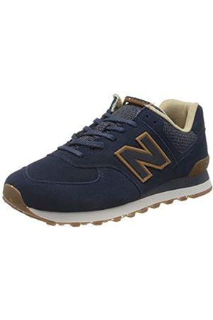 New Balance Men's 574v2 Trainers, (Navy Soh)