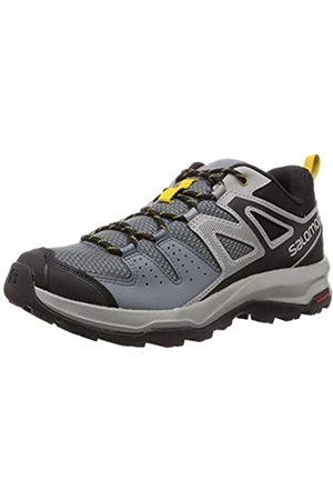 SALOMON Men's Hiking Shoes, X Radiant, (Stormy Weather/Monument/ Sulphur)