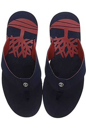 Timberland Men's Wild Dunes Synth Thong Flip Flops, (Navy)