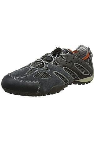Geox Men's Uomo Snake J Low-Top Sneakers, (Dk /Lt )