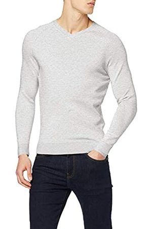 Superdry Men's Orange Label Cotton Vee Jumper